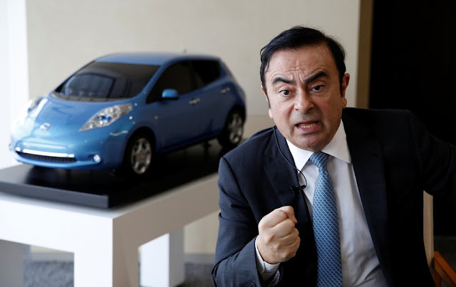 Rondoniense, Diretor da Nissan e Mitsubishi Mundial, Carlos Ghosn é suspeito de transferir perdas por investimentos pessoais para Nissan