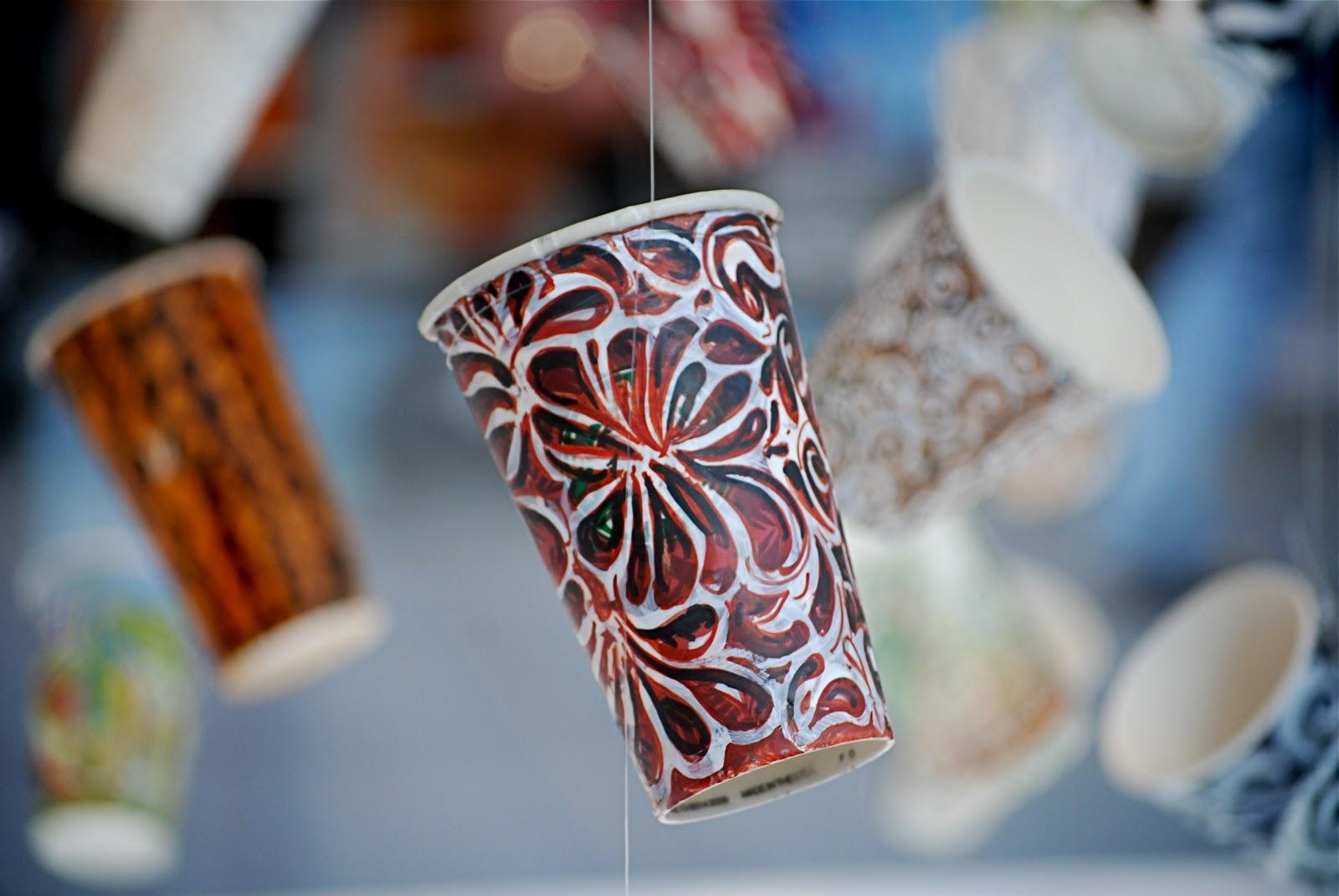 Paper Cup Art Art Craft Gift Ideas