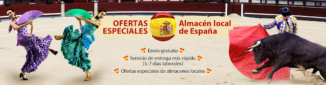 Spain Local Warehouse Promotion, Free Shipping, Ship From Spain