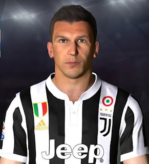 PES 2017 Faces Mario Mandzukic by Facemaker Ahmed El Shenawy