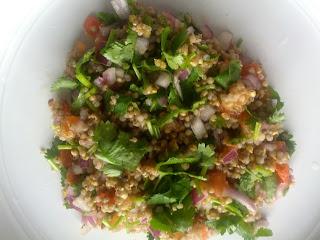 Pearl millet Tabbouleh (Salad)