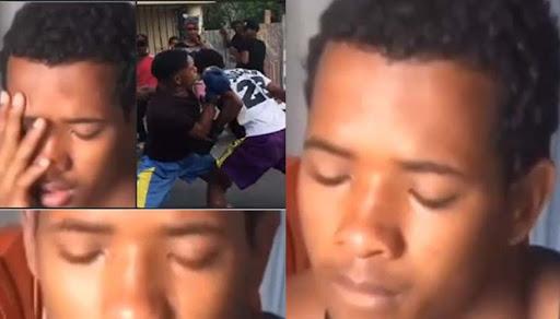 """VIDEO : ESTA MUY DEPRIMIDO """"El estaba aqui conmigo"""" Dice joven del caso de boxeo con amigo"""