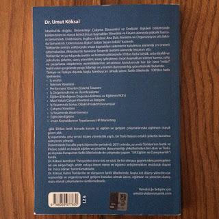 Insan Kaynaklarina Pazarlama Dokunusu - HR Marketing (Kitap) Arka Kapak