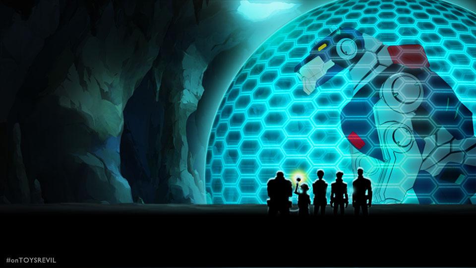 Voltron: Legendary Defender by Dreamworks Animation