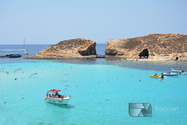 Malta, wyspa Comino i Blue Lagoon - top atrakcja turystyczna Malty