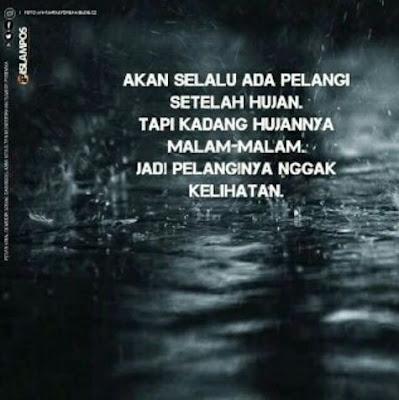 10 Meme 'Hujan' yang Kocaknya Malah Bikin Galau