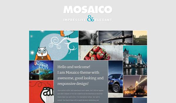 Mosaico Magazine Theme