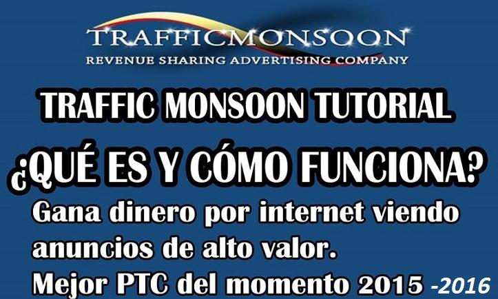 Gana Dinero con Trafficmonsoon ★ 2016 Tutorial completo