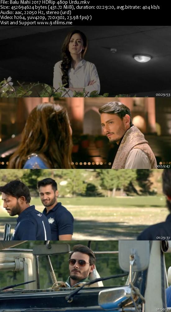 Balu Mahi 2017 HDRip 480p Urdu