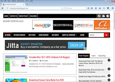 Mozilla Firefox 47.0.0 Terbaru offline Installer