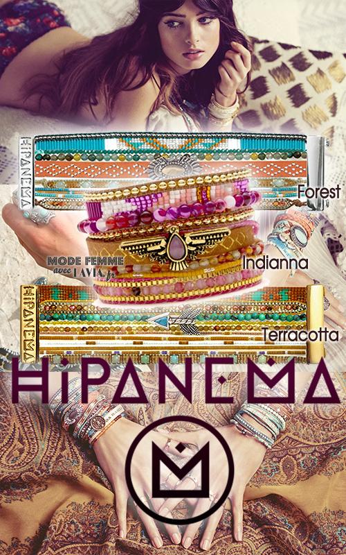 Bracelet brésilien à fermoir chic et coloré Hipanema