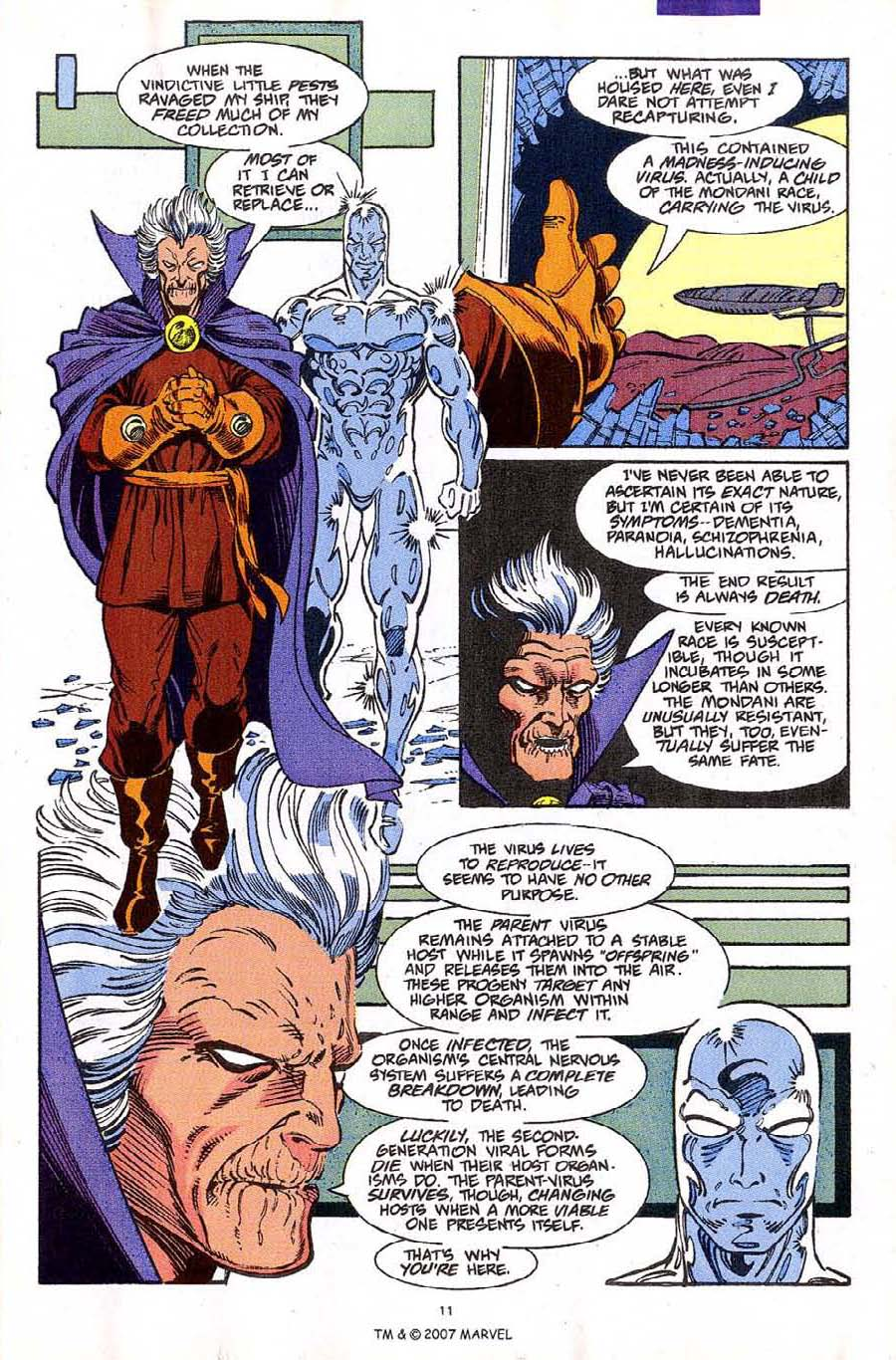 Read online Silver Surfer (1987) comic -  Issue #61 - 13