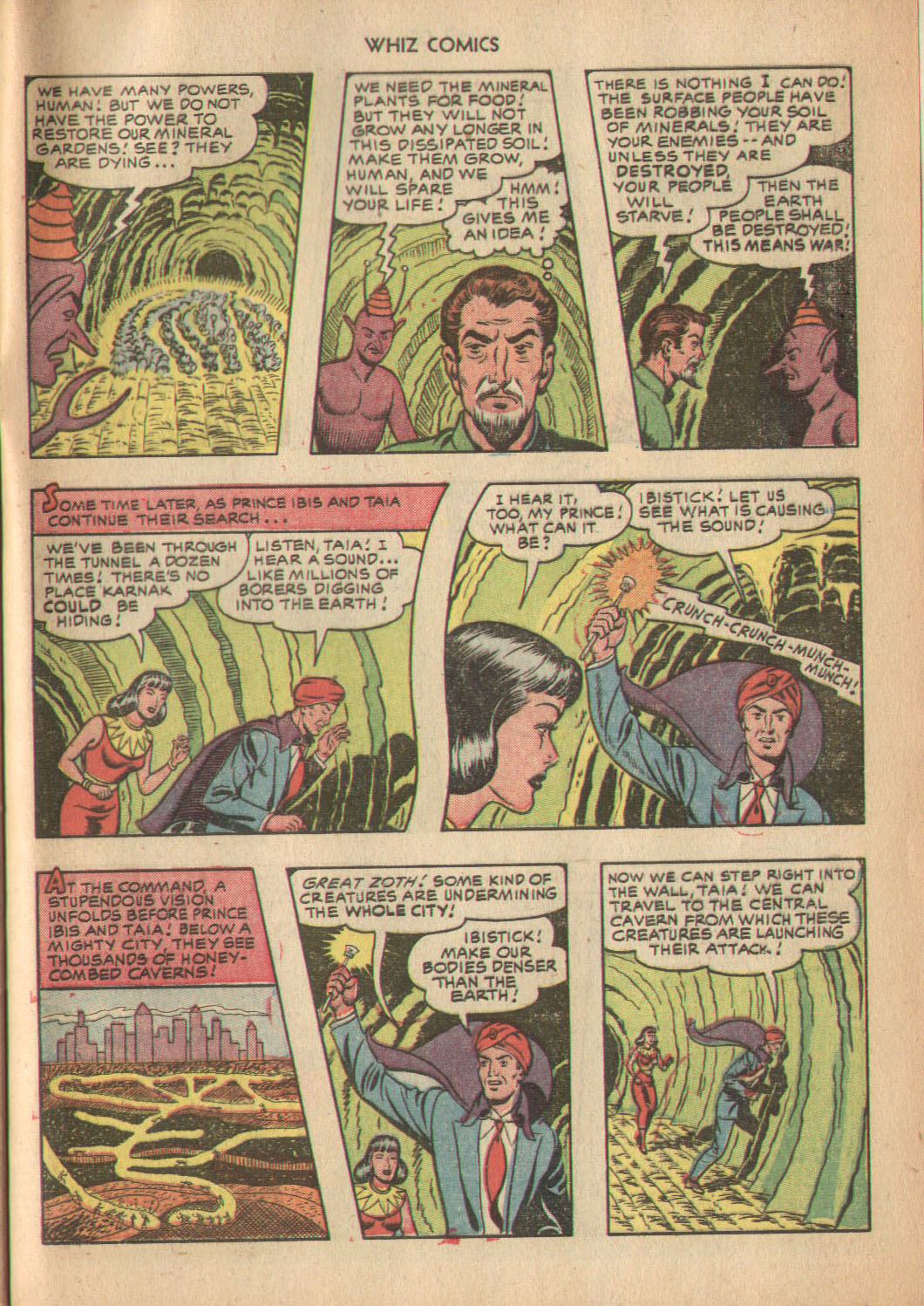 WHIZ Comics issue 137 - Page 33