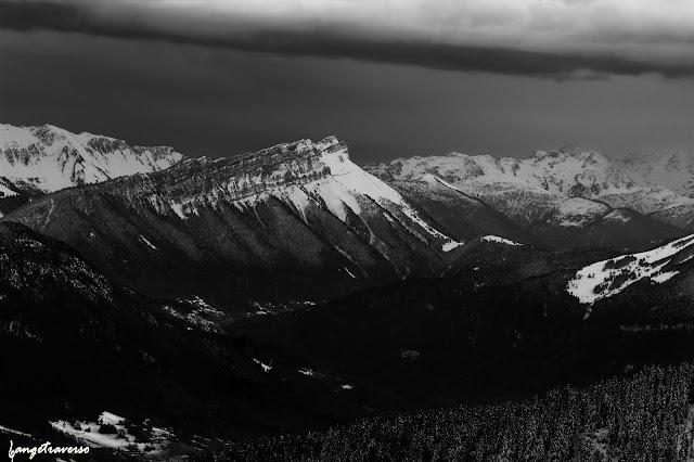 alpes, aravis, massif des Alpes, massif des Bauges, Haute-Savoie, Paysage, neige, hiver