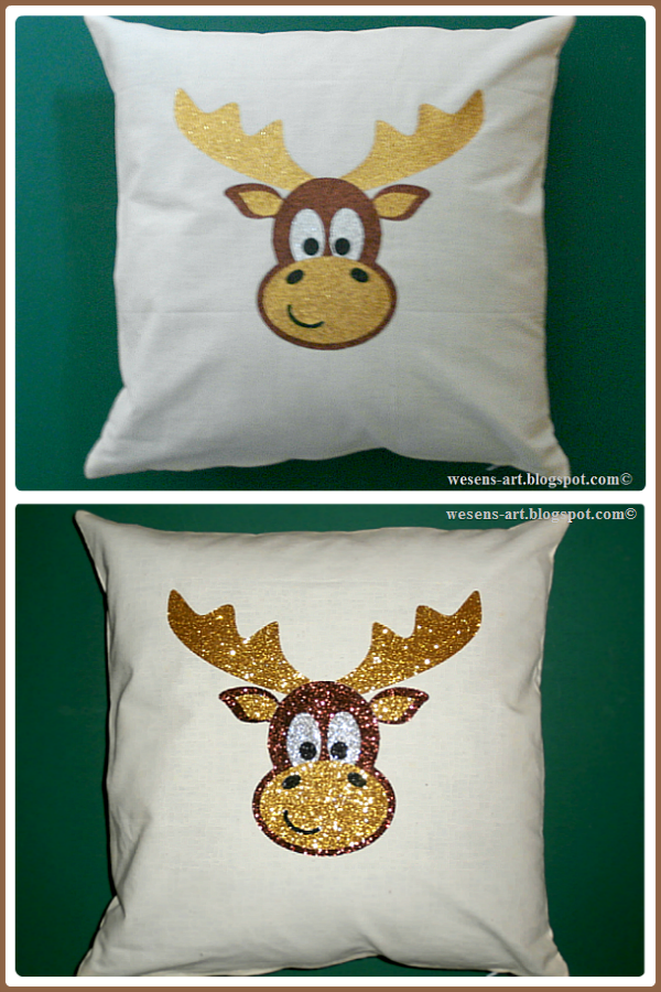 Moritz the moose  wesens-art.blogspot.com