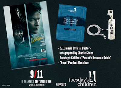 9/11 starring Charlie Sheen and Whoopi Goldberg - Giveaway!