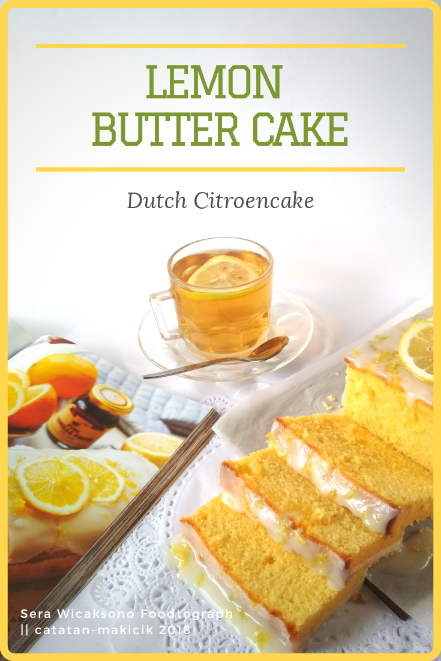 Dutch Lemon Cake || Citroencake