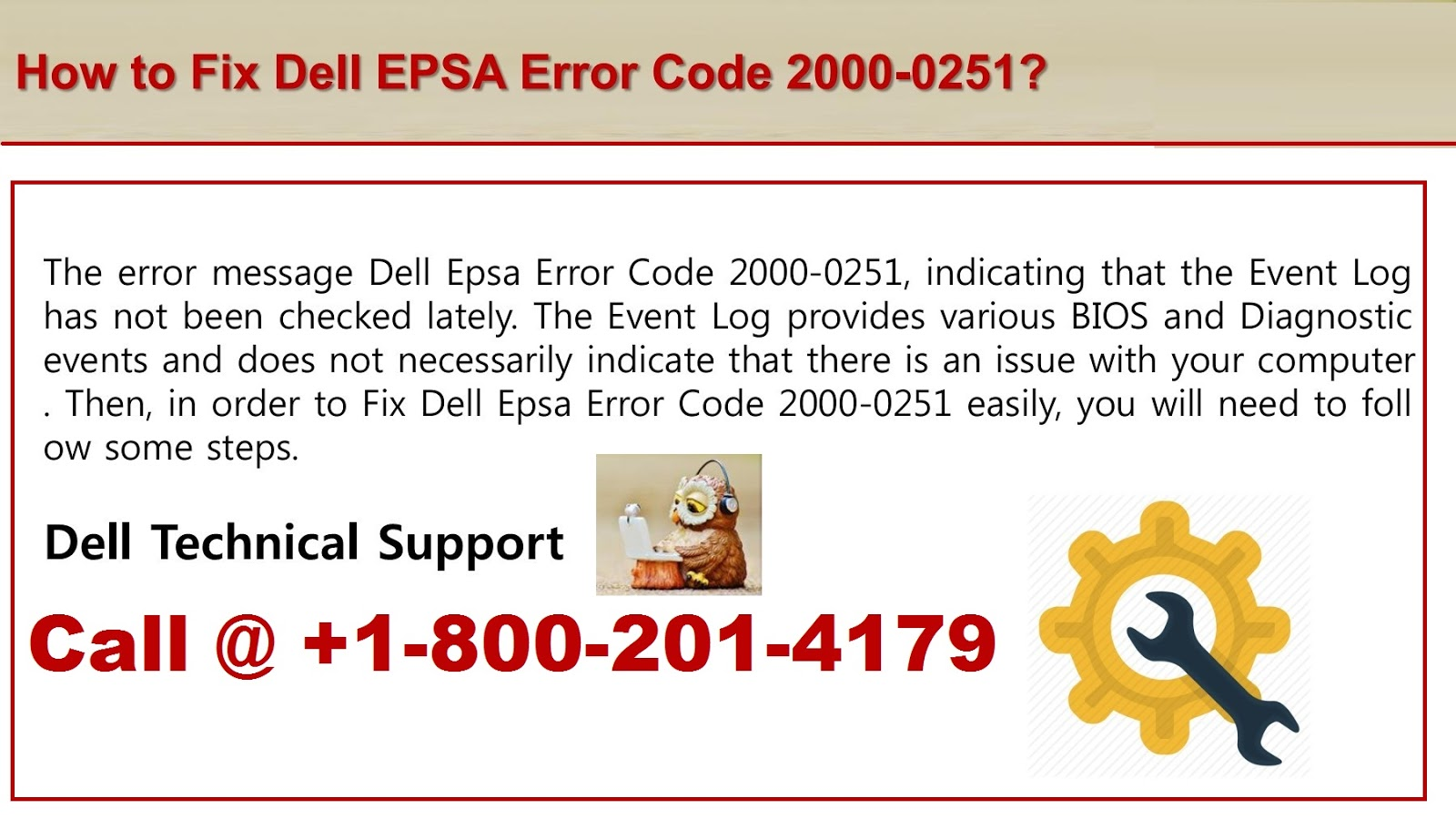 How to Fix Dell Error Code 2000-0125?