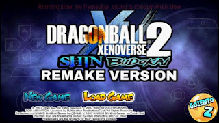 NOVO!! MOD DRAGON BALL SHIN BUDOKAI PARA ANDROID PPSSPP + DOWNLOAD