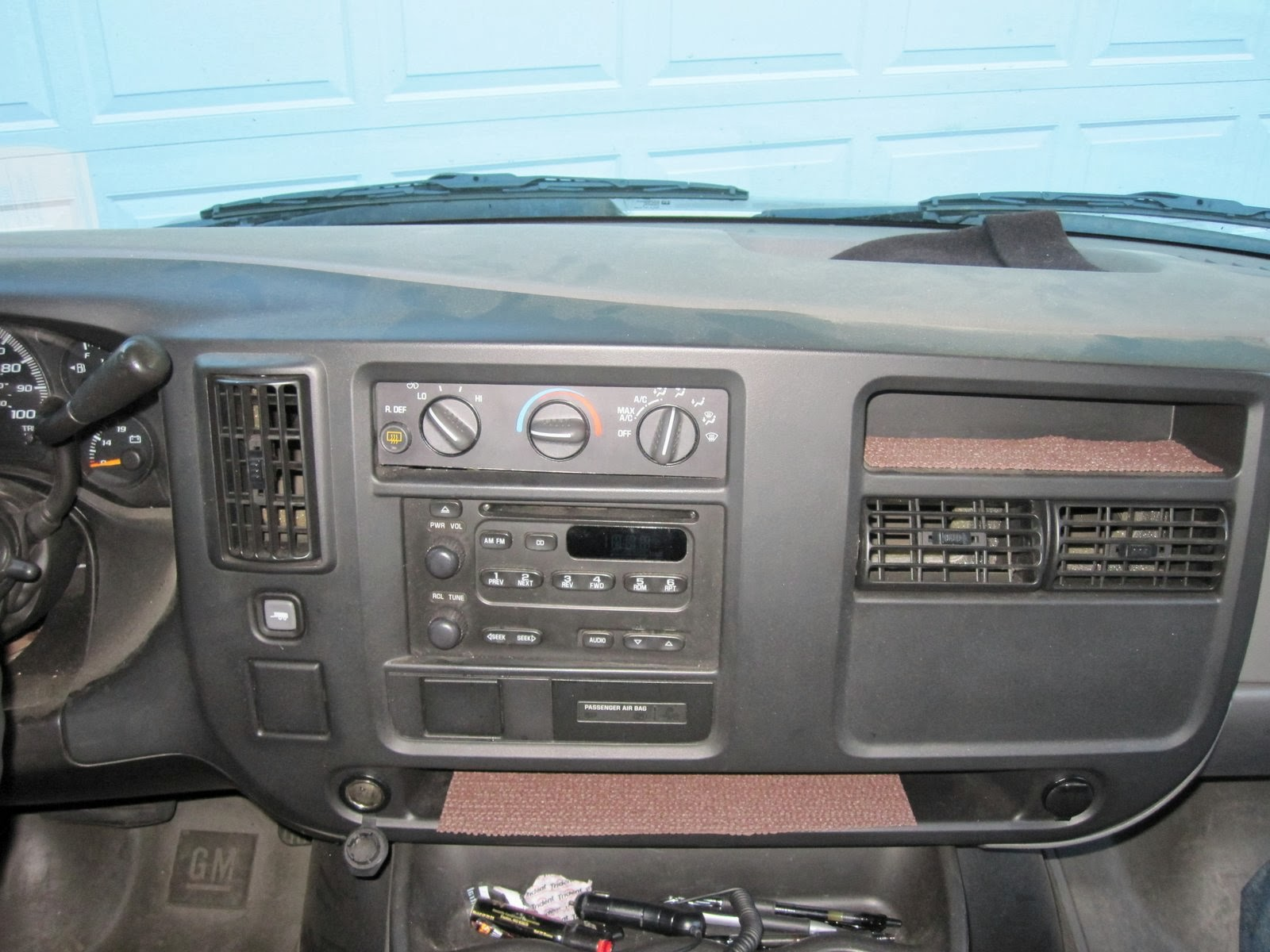 Replacing the Factory Radio | From a Chevy Express to a
