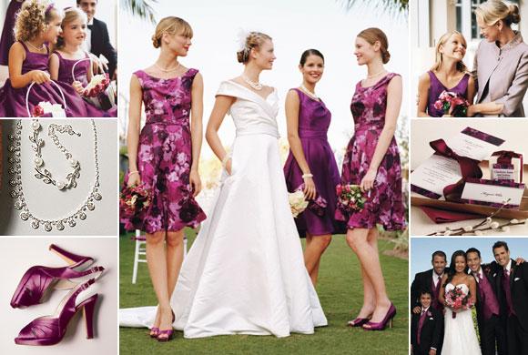 WhiteAzalea Junior Dresses: Purple Junior Bridesmaid
