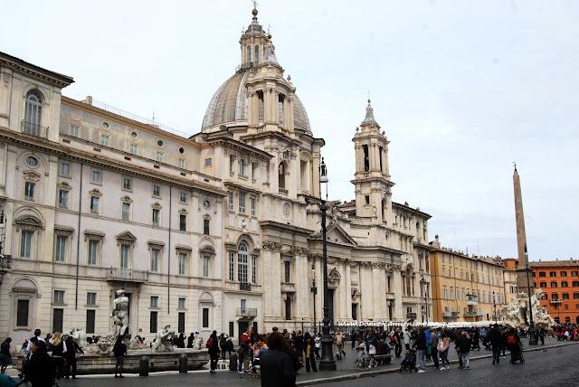 Piazza Navona w Rzymie