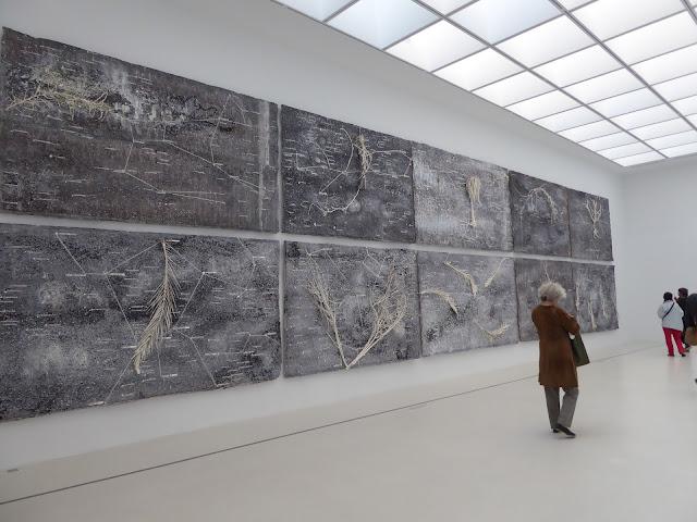 La vie secrète des plantes Anselm Kieffer  tableaux prêtés par Beaubourg pour son 50 ième anniversaire exposition Fondation Lambert Avignon