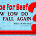 Editorial: Rape For Beef: How low do we fall again?