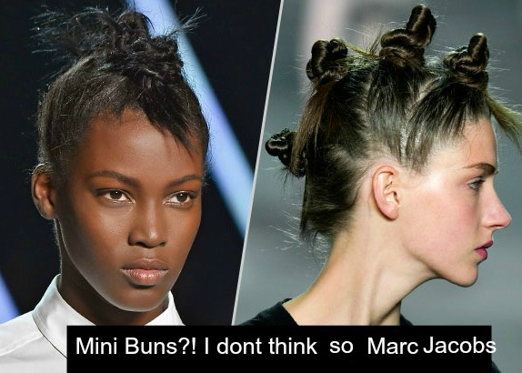 Mini Buns?! I dont think so Marc Jacobs