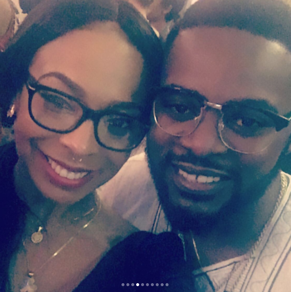1 Ex BBNaija Housemate, Tboss Pictured With Omotola, Stephanie Linus, Bovi, Iyanya And Falz At The US Consulate