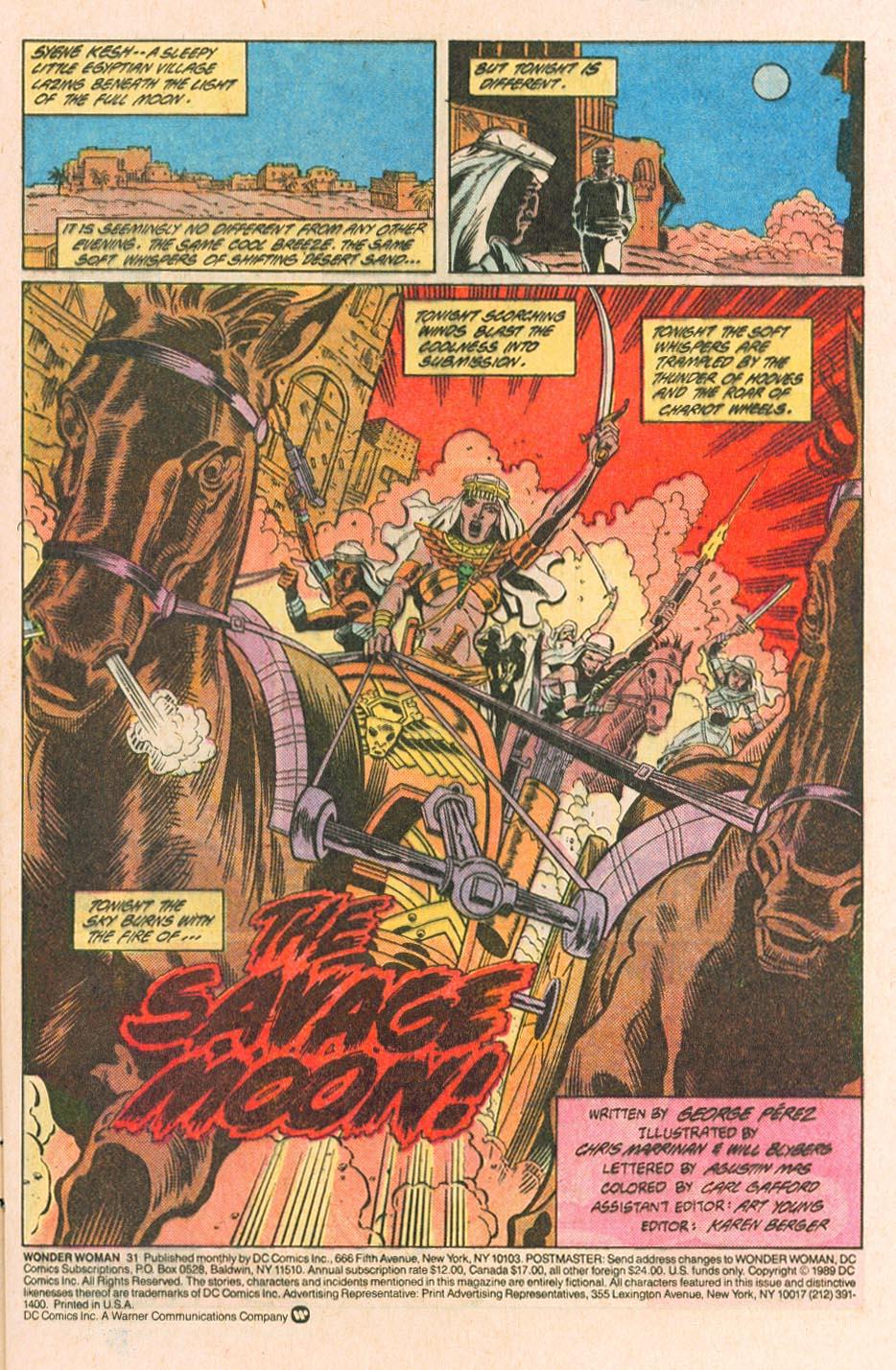 Read online Wonder Woman (1987) comic -  Issue #31 - 5