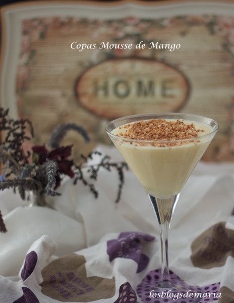 Copas Mousse de Mango