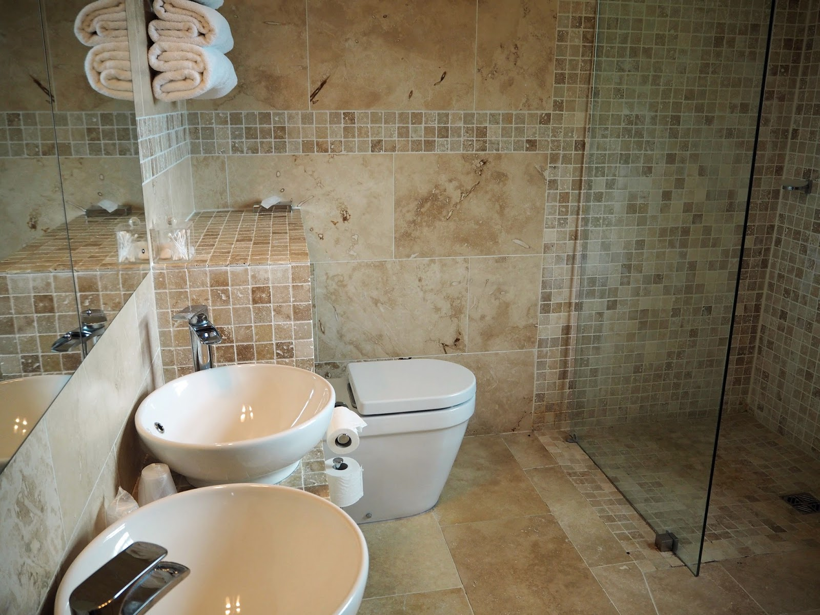 luxury bathroom Ox Pasture Hall Country Hotel, Scarborough, Yorkshire, romantic hotel near beach in Scarborough