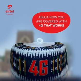 Airtel 4G LTE Service now Live and Active in Abuja