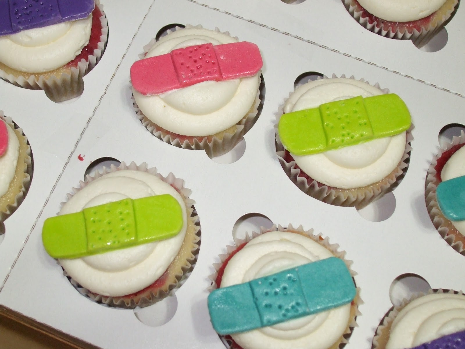 Cakes By Paula Quot Band Aid Quot Cupcakes