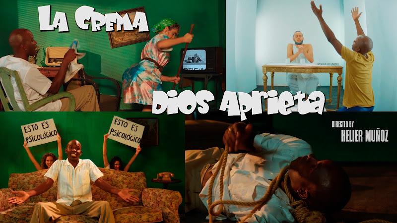 La Crema - ¨Dios aprieta¨ - Videoclip - Dirección: Helier Muñoz. Portal del Vídeo Clip Cubano