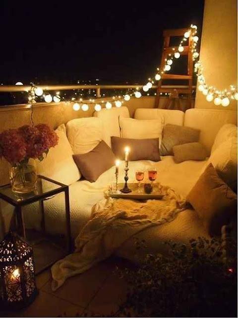 Luces para tu terraza de invierno