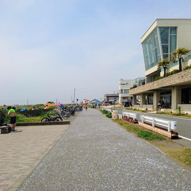 湘南海岸・砂浜のみち 茅ヶ崎サザンビーチ