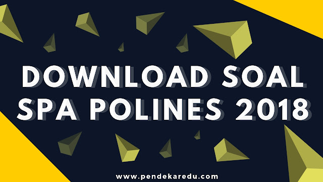 download soal spa polines 2018