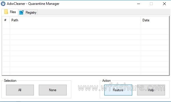 AdwCleaner 7.0.6.0 Gratis - WFDShare.com