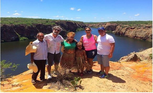 Agência Alagoas  de Notícias divulga imagens de Delmiro Gouveia, sendo como imagens do município de Piranhas