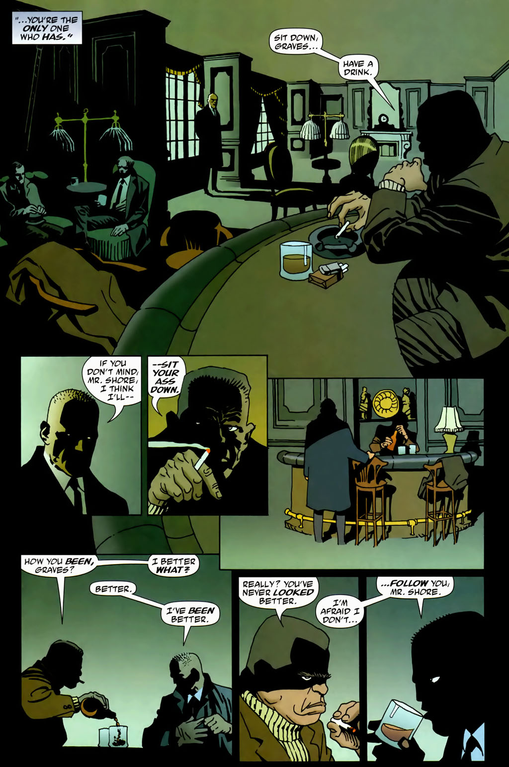 Read online 100 Bullets comic -  Issue #69 - 11