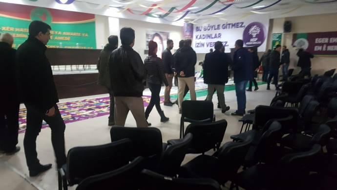 HDP Diyarbakır İl Binası Polis Baskın DBP Kongre