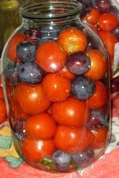помидоры с сливами