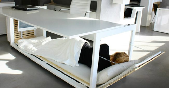 A Nap Desk Is What We All Need To Be Productive At Work