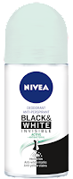Desodorante Nivea invisible black and white review INCI