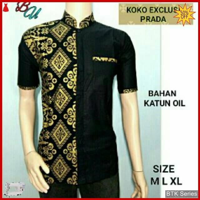 BTK081 Baju Hem Koko Prada Exclusive Modis Murah BMGShop