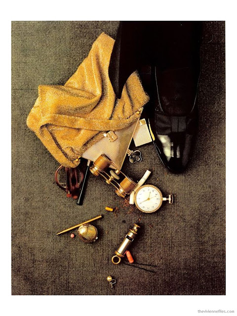Spilled Handbag (Theatre Accident) by Irving Penn