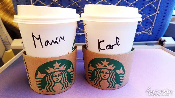 Starbucks en couple