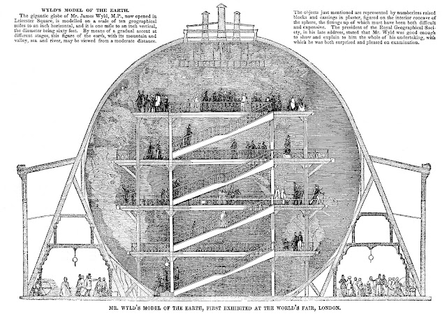 Wyld's Great Globe 1851 Great Exhibition